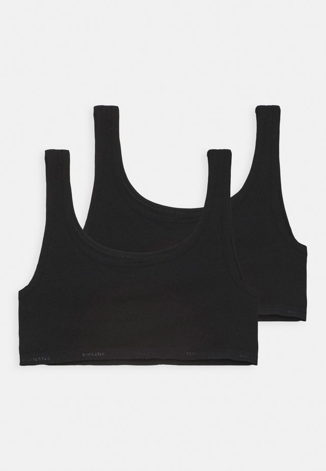 95/5 2 PACK - Bustino - schwarz