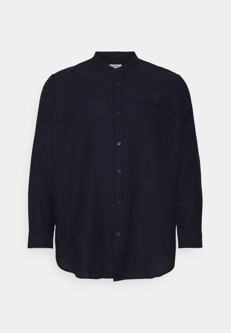 Esprit - WAFFLE - Formal shirt - navy