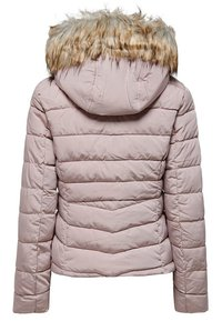 ONLY - ONLNEW ELLAN QUILTED HOOD JACKET - Light jacket - shadow grey - 1