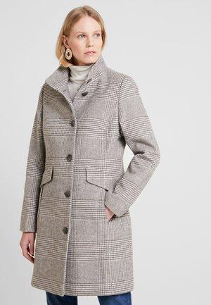 Płaszcz wełniany /Płaszcz klasyczny - grey/white