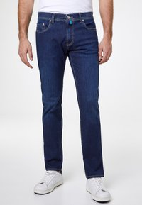 Pierre Cardin - FUTUREFLEX LYON  - Jeans Tapered Fit - dark blue - 0