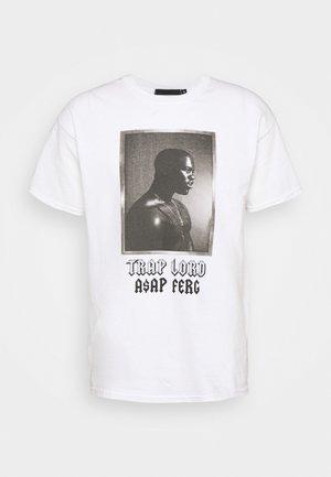 A$AP FERG LORD - T-shirt imprimé - white