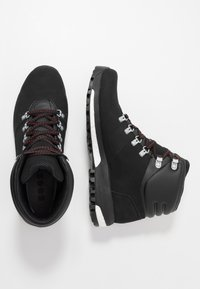 adidas Performance - TERREX BOOST COLD.RDY RAIN.RDY HIKING SHOES - Zapatillas de senderismo - core black/scarlet - 1