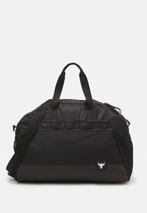 PROJECT ROCK GYM BAG - Sportovní taška - black