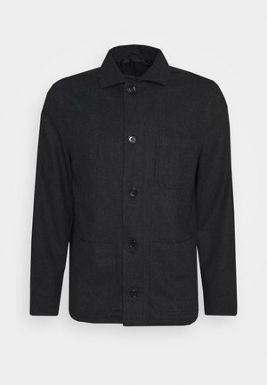 LOUIS JACKET - Giacca leggera - dark grey