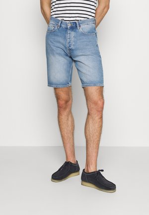 DASH - Denim shorts - light stone