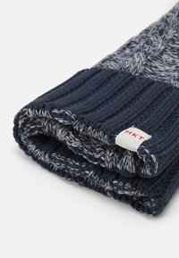 HKT by Hackett - CABLE BEANIE - Berretto - grey/blue - 2
