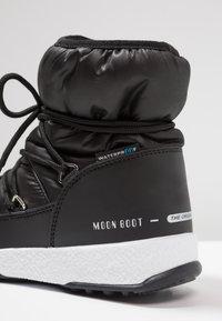 Moon Boot - GIRL LOW WP - Botines con cordones - black - 2