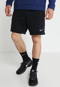 Nike Performance - DRY SHORT  - Sports shorts - black/metalic hematite - 0