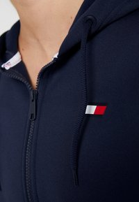 Tommy Sport - ZIP UP HOODY - Fleece jacket - blue - 7