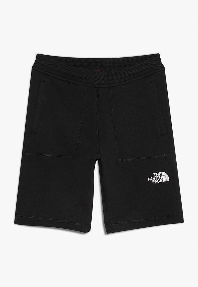 YOUTH - Short de sport - black/white