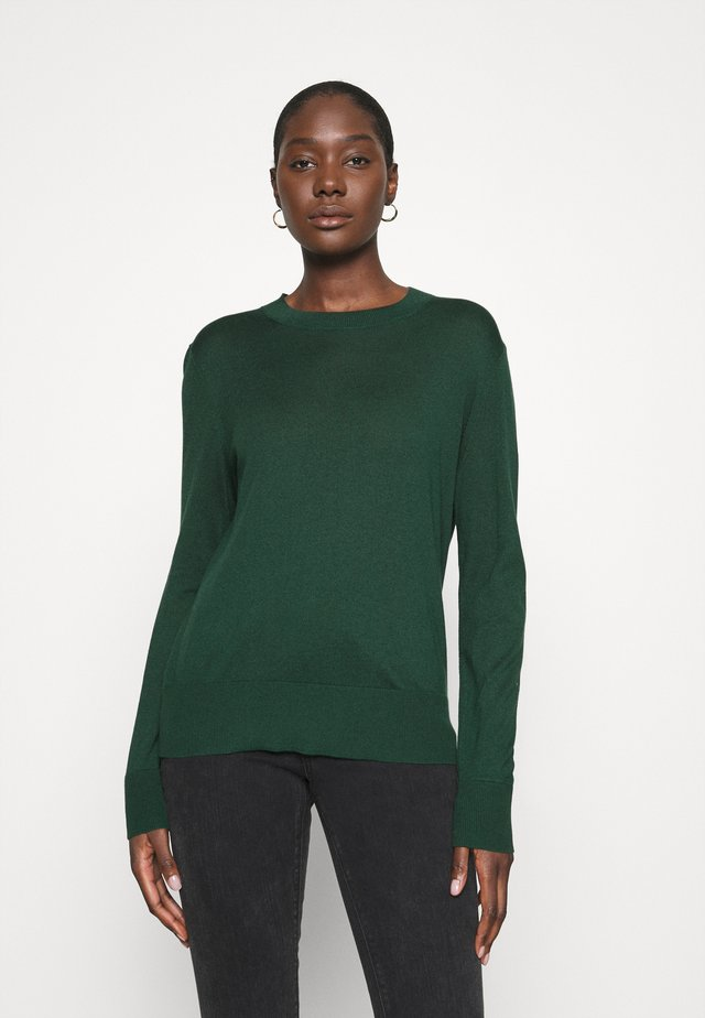 EASY CREW SOLIDS - Jumper - sugar pine