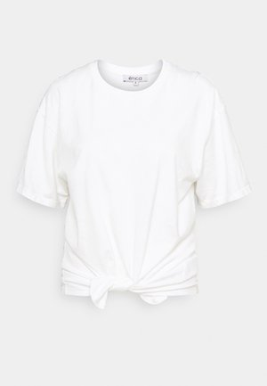 DEMI - Print T-shirt - white