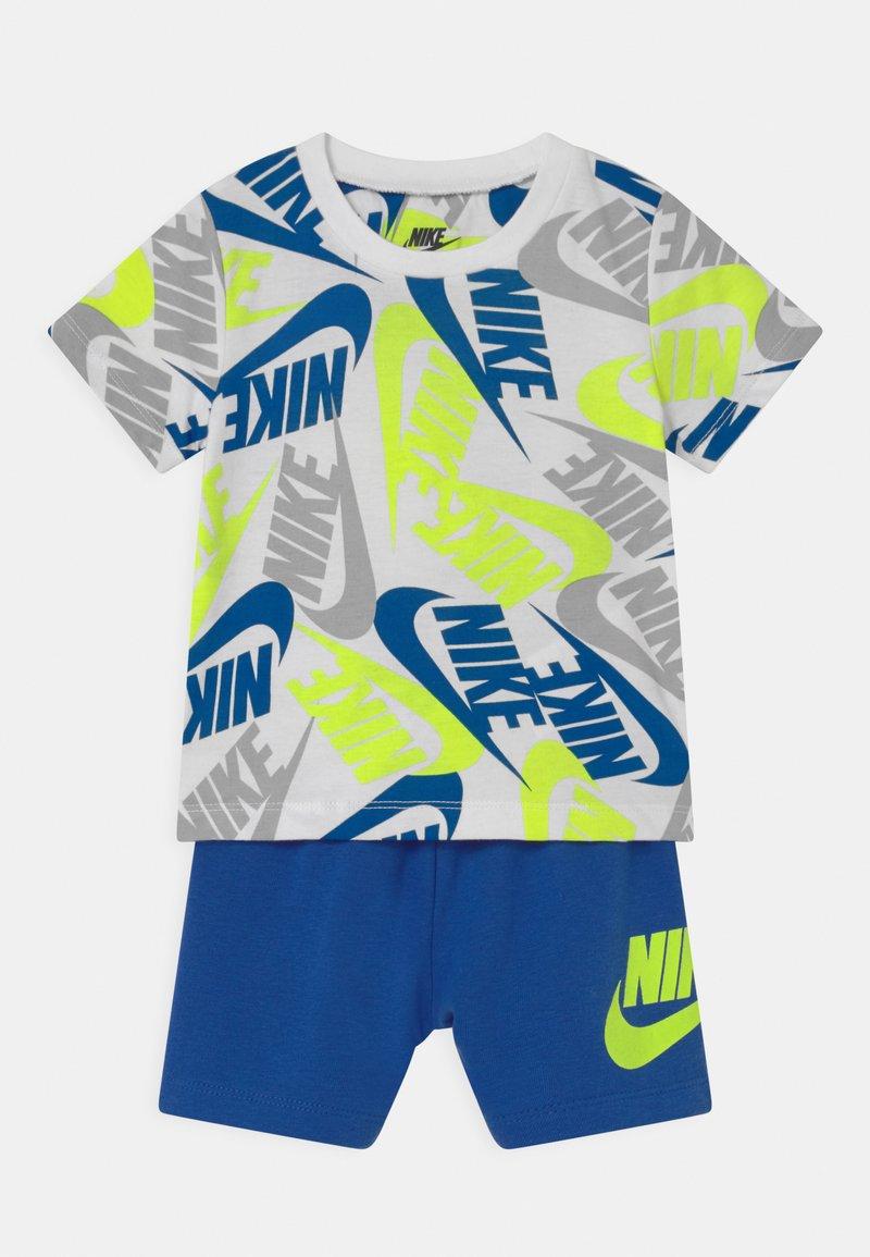 Nike Sportswear - FUTURA SET - Trainingsbroek - blue/neon green