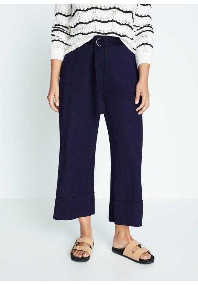 GEMMA - Pantalones - dunkles marineblau