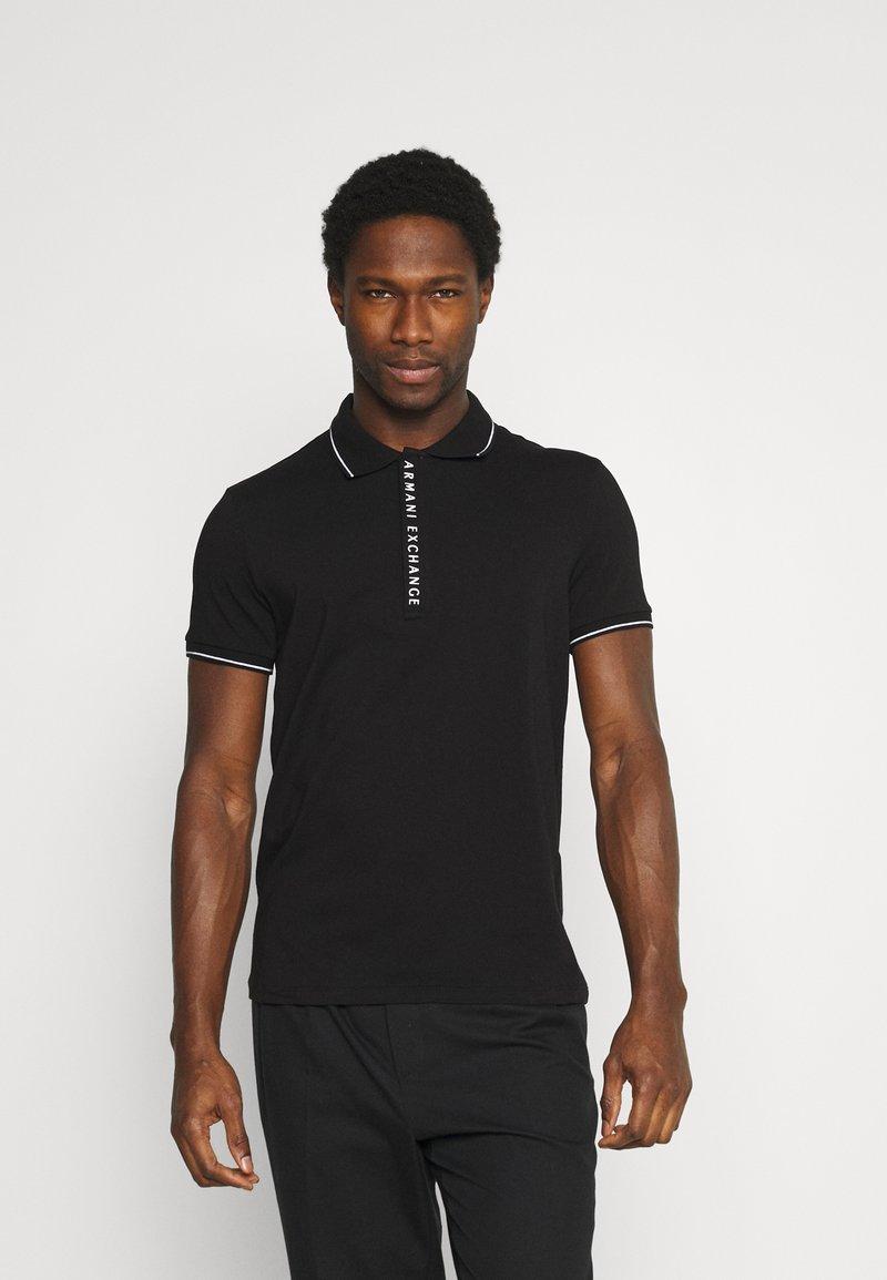 Armani Exchange - Poloshirt - black