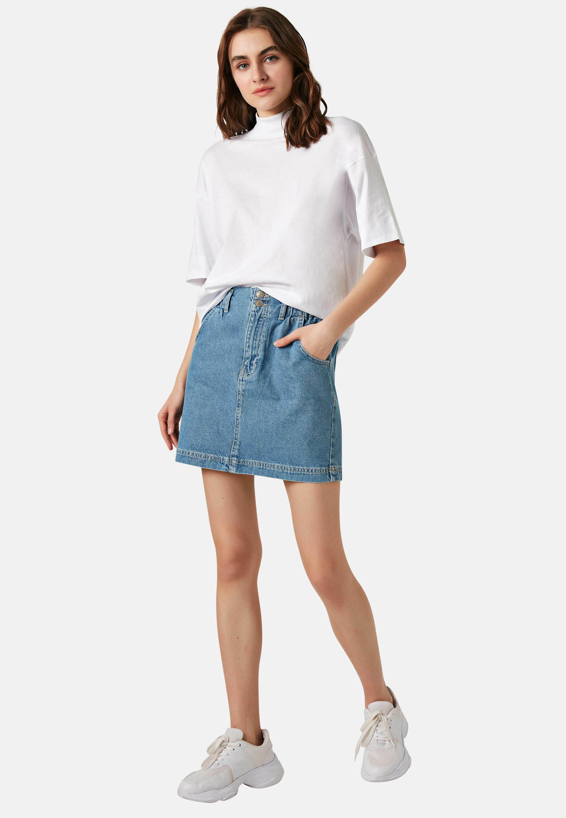Donna Gonna di jeans