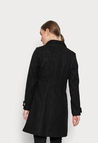 Wallis Petite - FUNNEL - Classic coat - black - 2