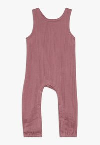 Sense Organics - SILVA ROMPER SLEEVELESS BABY - Jumpsuit - old rose - 0