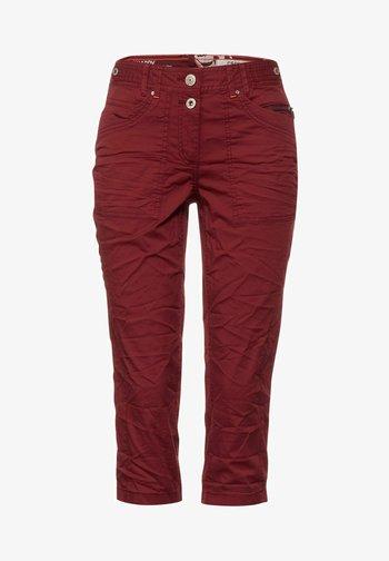 Denim shorts - braun
