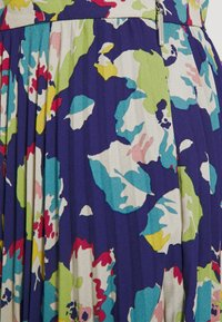 Lauren Ralph Lauren - DRAPEY SKIRT - A-line skirt - blue/multi - 5