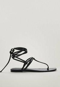 Massimo Dutti - Sandals - black - 4