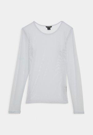 Long sleeved top - grey dusty light