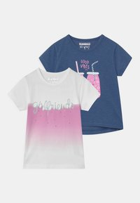 Staccato - 2 PACK - Print T-shirt - multi-coloured - 0