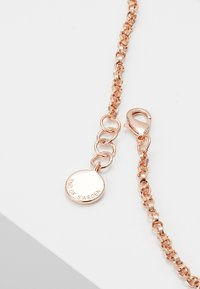 SNÖ of Sweden - MONROE SMALL ROUND PENDANT - Necklace - roségold-coloured - 2