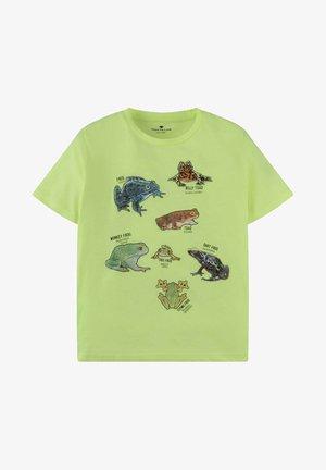T-shirt print - fiery lime neon|green