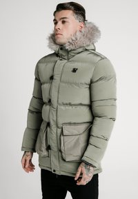 SIKSILK - STOP PUFF - Winter coat - khaki - 0