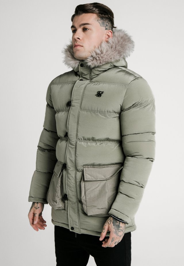 STOP PUFF - Winter coat - khaki