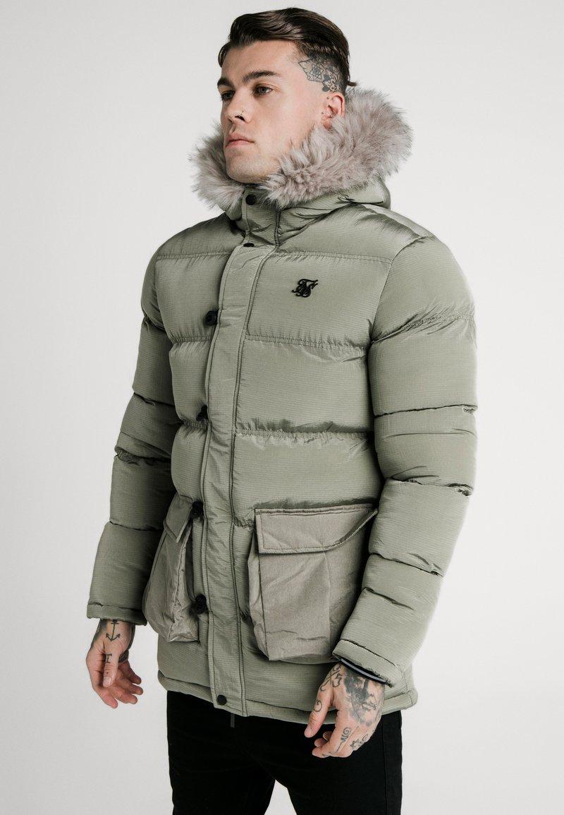SIKSILK - STOP PUFF - Winter coat - khaki