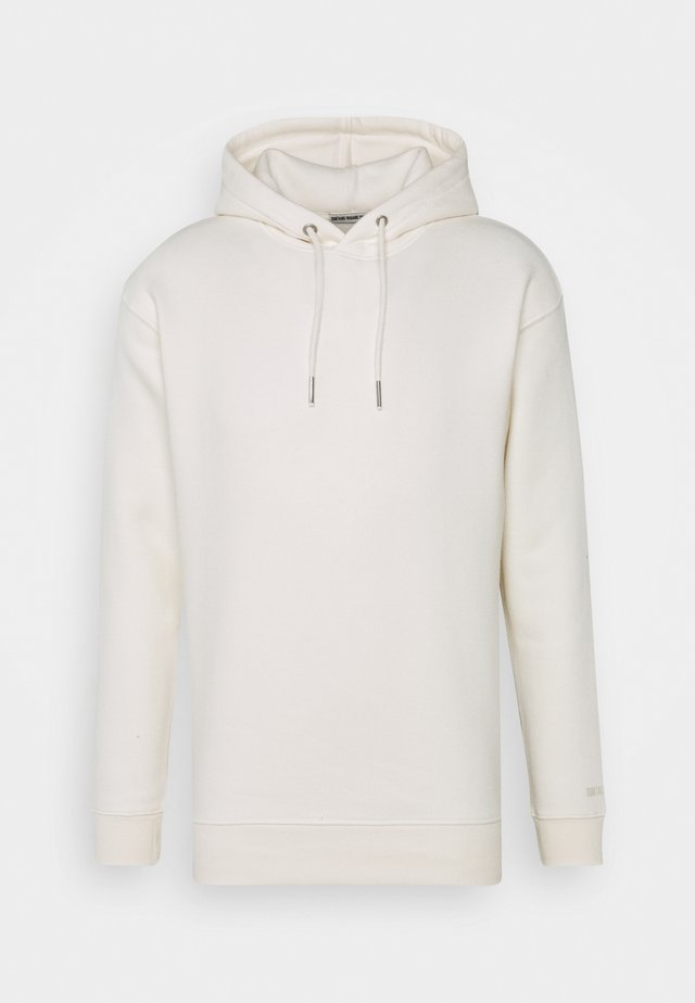 Hoodie - wool white