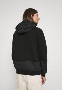 Glorious Gangsta - IRVAS HOODY - Zip-up sweatshirt - jet black - 2