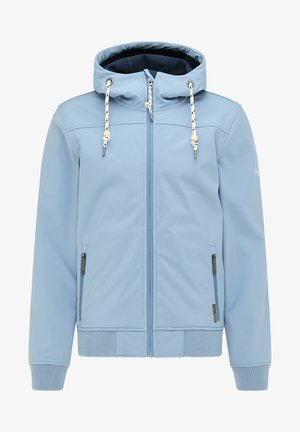 Soft shell jacket - denimblau