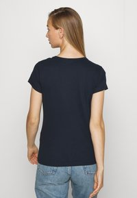 Abercrombie & Fitch - CREW 3 PACK - T-shirt basic - black/white/navy - 3