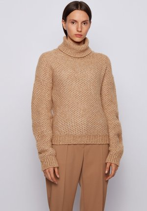 C_FULLAM - Jumper - light brown
