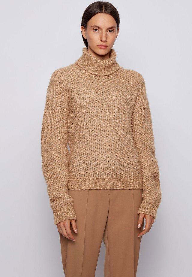 C_FULLAM - Strickpullover - light brown