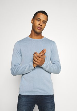 JJELEO  - Pullover - faded denim