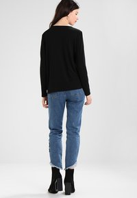 ONLY - ONLSONJA MIDA WRAP - Long sleeved top - black - 2