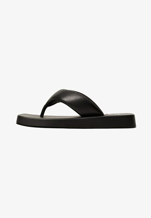 FOAM - Teenslippers - black