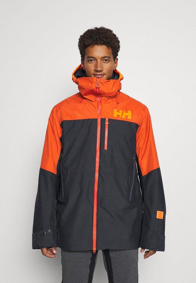 STRAIGHTLINE LIFALOFT JACKET - Snowboard jacket - gunmetal