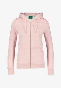Superdry - VINTAGE LOGO - Zip-up sweatshirt - rosa - 0
