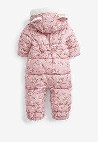 Next - Snowsuit - pink - 1