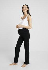 Cache Coeur - SERENITY PANTS - Pyjamabroek - black - 1