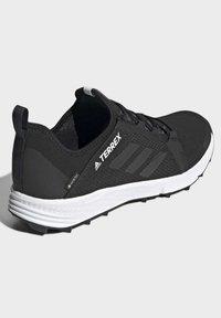 adidas Performance - TERREX SPEED GORE-TEX TRAIL RUNNING SHOE - Trail running shoes - black - 4