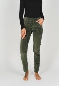 Angels - Jeans Skinny Fit - khaki - 1