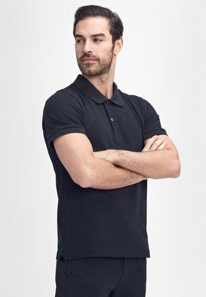 LOGO PIQUE - Sports shirt - black