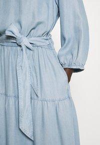 Lauren Ralph Lauren - VAETELL-LONG SLEEVE-DAY DRESS - Maxi dress - indigo mist wash - 5